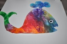 You are in for a whale of a good time with these fun DIY whale crafts. Whether your little one speaks fluent whale or you are simply a fan of all things underwater these crafts are nothing short of fishy. Whale Crafts, Ocean Crafts, Fish Crafts, Ocean Projects, Art Projects, Under The Sea Crafts, Whale Painting, Jonah And The Whale, Whale Art