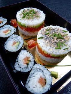Chirashi façon Burger, Sushi et Maki | Bento&co