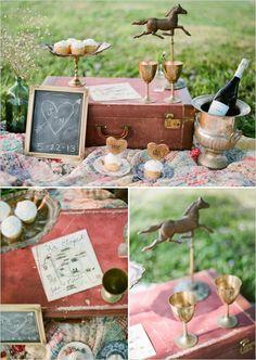 vintage picnic decor ideas