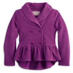 Plum Jacket for Girls | BeForever | American Girl