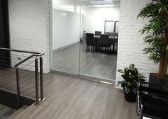 Office Flooring: Douglas Phillips Architect from Parterre Flooring. View our extensive collection of professional grade vinyl flooring today! Vinyl Flooring Installation, Luxury Vinyl Flooring, Furniture, Design, Home Decor, Products, Decoration Home, Room Decor, Home Furnishings