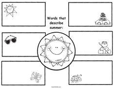 4 seasons activities, 5 senses activities, 5 senses activities, 5 senses crafts, 5 senses writing prompts, 5 senses booklet, adjective activities, 4 seasons activities, 4 seasons crafts, 4 seasons booklet, 4 seasons writing prompts