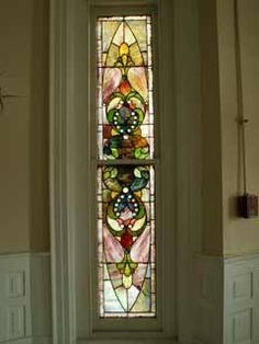 stain glass window
