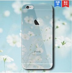 Apple iPhone Case Cover Ultra TPU Mountain Clear 6 6S Plus 5 5S SE Transparent Soft