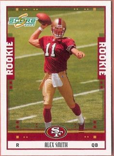 2005 SCORE ALEX SMITH RC ROOKIE # 331 CHIEFS 49ERS MINT FROM PACK