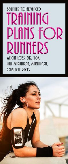 Free printable running training plans for weight loss, 10ks, 5ks, marathons & half marathon to help runners of all abilities from beginners to advanced! Achieve your running goals today!
