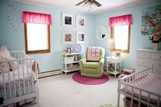 Cherry Blossom Baby Girl Nursery