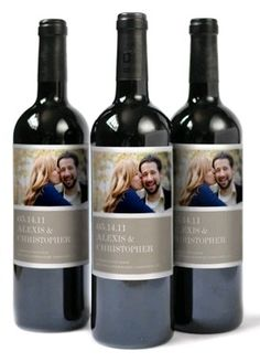 Homemade wine labels - great housewarming or wedding shower gift!