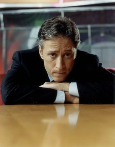 John Stewart    Funny, smart and balls the size of canned hams. What's not to like.