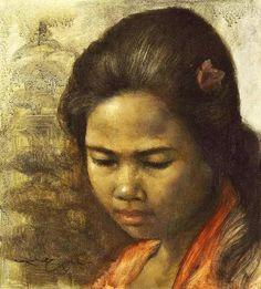 26 Portrait Lukisan Dullah - Seni Rupa