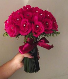 Rosas pink e ponto de luz