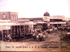 History of Rockdale, Milam County, Texas