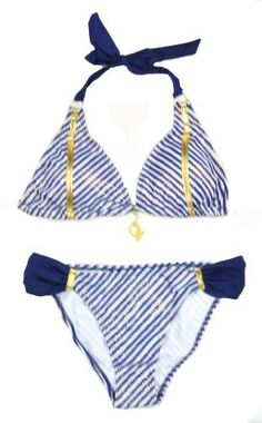Baby Phat Womens Navy Stripe Printed 2Pc Halter Top Bikini Set, http://www.amazon.com/dp/B00CXY9HTQ/ref=cm_sw_r_pi_awdm_v-tetb0VC5JWB