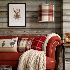 DRUM-LAMP-SHADE-COUNTRY-HOMES-AND-INTERIORS-BLOG
