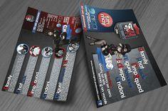 HK 006 Flyer Design Flyer Design, Flyers, Quad, Ruffles, Leaflets, Quad Bike