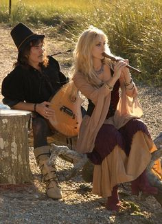 Candice and Ritchie Blackmore of Blackmore's Night