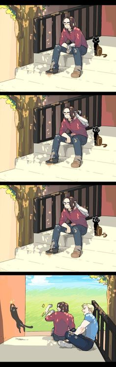 Marvel Avengers 712624341018633860 - uploaded by kelsie williams; what most cat owners have done at some point… Now there's something to think of, Bucky as a cat owner Source by valrianelefvre Marvel Avengers, Memes Marvel, Dc Memes, Marvel Funny, Marvel Dc Comics, Winter Soldier, Wallpaper Winter, Heros Comics, Die Rächer