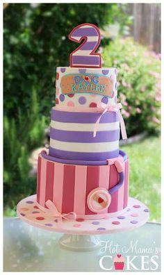 Doc Birthday Cake