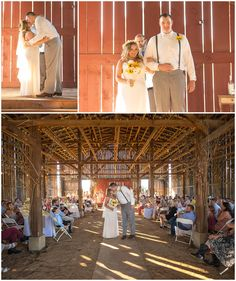 Evans Orchard Event Barn Wedding Ceremony In Georgetown Kentucky Farm Church Pews Venue Outdoor Silo Doors Ke