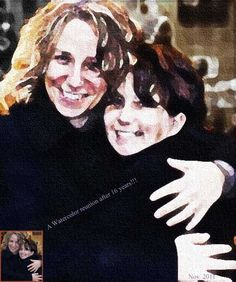 Watercolor painting of Carrie + her friend Nathalie World Famous, Armin, Carry On, Watercolor Paintings, To My Daughter, Digital Art, Fictional Characters, Hand Luggage, Water Colors