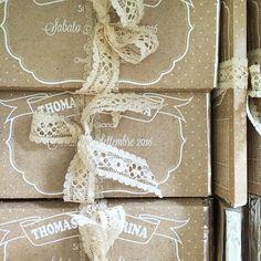 Partecipazioni di matrimonio fatte con tavolette di cioccolato!!