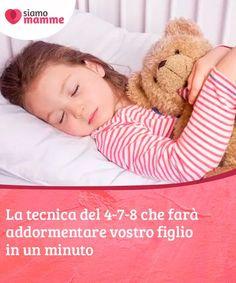 La tecnica del 4-7-8 che farà addormentare vostro figlio in un minuto La tecnica del 4-7-8 è un esercizio di respirazione che farà addormentare rapidamente vostro figlio, aiutandolo a rilassare il proprio corpo e agendo da tranquillante naturale per il suo sistema nervoso. Scoprite in che modo leggendo questo articolo. Infant Activities, Activities For Kids, Montessori, I'm Pregnant, Kids Decor, Baby Wearing, Baby Care, Problem Solving, Maternity