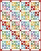 Fat quarter shop free quilt patterns -   Color Wheel