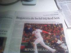 Bogaerts, king in Boston