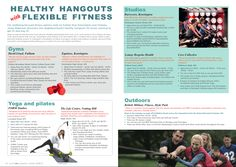 """""""Healthy Hangouts with Flexible Fitness"""" - Article commission for Bupa Cromwell Hospital's new health and lifestyle magazine """"Health etc."""" - Local fitness options in Kensington and Chelsea, London"""