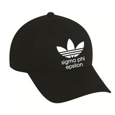 Sigma Phi Epsilon Adidas Custom Printed 5 Panel Hat - Port and Company CP86 - CAD