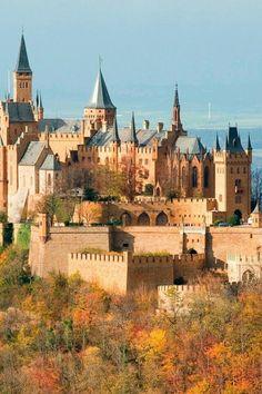 Hohenzollern Castle - Baden-Württemberg, Germany