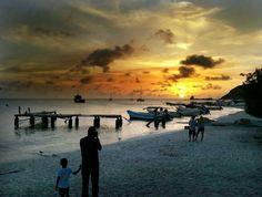 Los #cayos de #morrocoy sencillamente expectacular. #sunset #atardecer #venezuela #beach #playas #paradise #paraiso