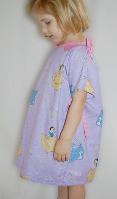 Childs hospital gown