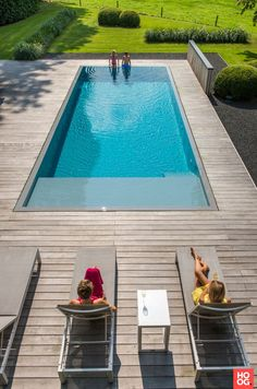 Be inspired by the project: Bio swimming pool Merelbeke. Exclusive photos and