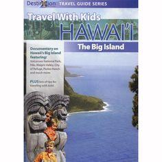 Travel With Kids Hawaii: The Big Island  DVD $14.95