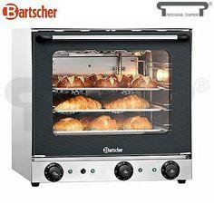 Bartscher Four a convection avec gril et vapeur Four A Convection, Double Vitrage, Toaster, Oven, Kitchen Appliances, Cooking, Roof Top, Pizza, Website