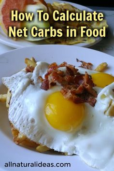 Confused about how to calculate net carbs in food? You're not alone. You need to consider how fiber and sugar alcohols will impact your blood sugar levels. | allnaturalideas.com