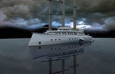Explorer Yacht, Expedition Yachts, Command And Control, Curved Walls, Water Toys, Yacht Design, Super Yachts, Luxury Yachts, Aircraft Carrier