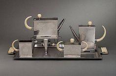 Art Deco Teapot Set ca.1931 by Peter Müller-Munk (1904-1967)