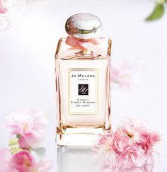 Jo Malone Cherry Blossom cologne. Perfect wedding day fragrance.