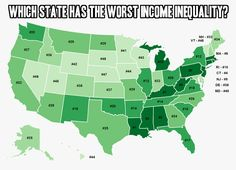Does your state have a big gap between the rich and the poor?