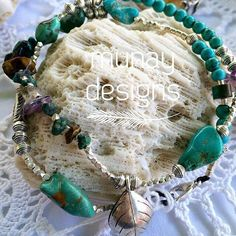 #Repost @munaydesigns  Handmade Wrap Bracelet or can be used as a short necklace...or anklet  adorned with thai hill tribe silver beads and charms & of course our favourite turquoise! For Sale  #handmade #wrapbracelet #bracelet #crystals #thaihilltribesilver #silver #turquoise #ocean #boho #beach #coral #brisbane #kohlipe #gypsy #jewels #munaydesigns