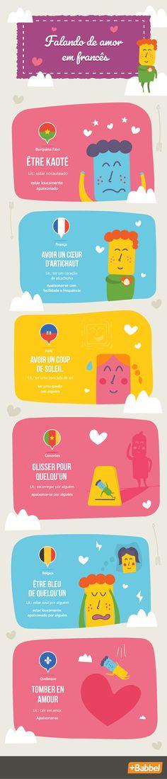 No Dia de São Valentim (Dia dos Namorados), tente demonstrar seu amor em francês com expressões romanticas da França, dos Camarões, do Canadá, do Haiti, do Senegal e de outros países.