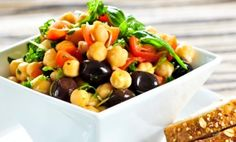 Yummy, Nourishing Chickpea Salad