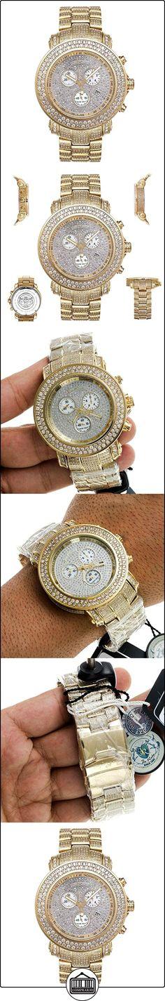Joe Rodeo Diamante reloj de hombre-Junior Oro 19.25Ctw  ✿ Relojes para hombre - (Lujo) ✿