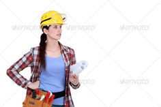 craftswoman holding blueprints adult, architecture, belt, blue, blueprint, builder, building, business, caucasian, class, color, confidence, construction, craftsman, craftswoman, engineer, female, hard, hat, housing, improvement, inspector, leadership, manual, mature, occupation, one, outdoors, person, plan, protective, safety, site, tools, urban, visibility, wear, woman, work, worker, yellow, craftswoman holding blueprints