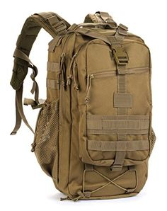 Red Rock Outdoor Gear Summit Backpack Coyote * Click on the image for additional details.(This is an Amazon affiliate link and I receive a commission for the sales)