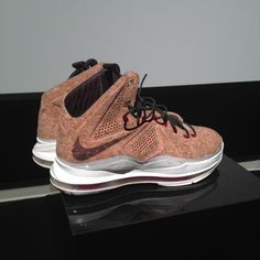 "Nike LeBron X ""Cork"" - New Images 