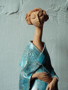Ceramica lui Andrei Pandea, din Sibiu Ceramic Pottery, Art Nouveau, Cups, Faces, Statue, 3d, Mugs, The Face, Face
