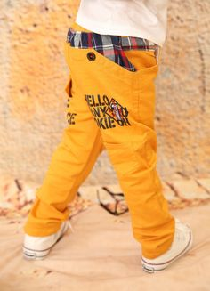 2015 New children pants baby boy's wearing korean styling fashion spring and autumn kid's causual trousers for 3-8 Years old